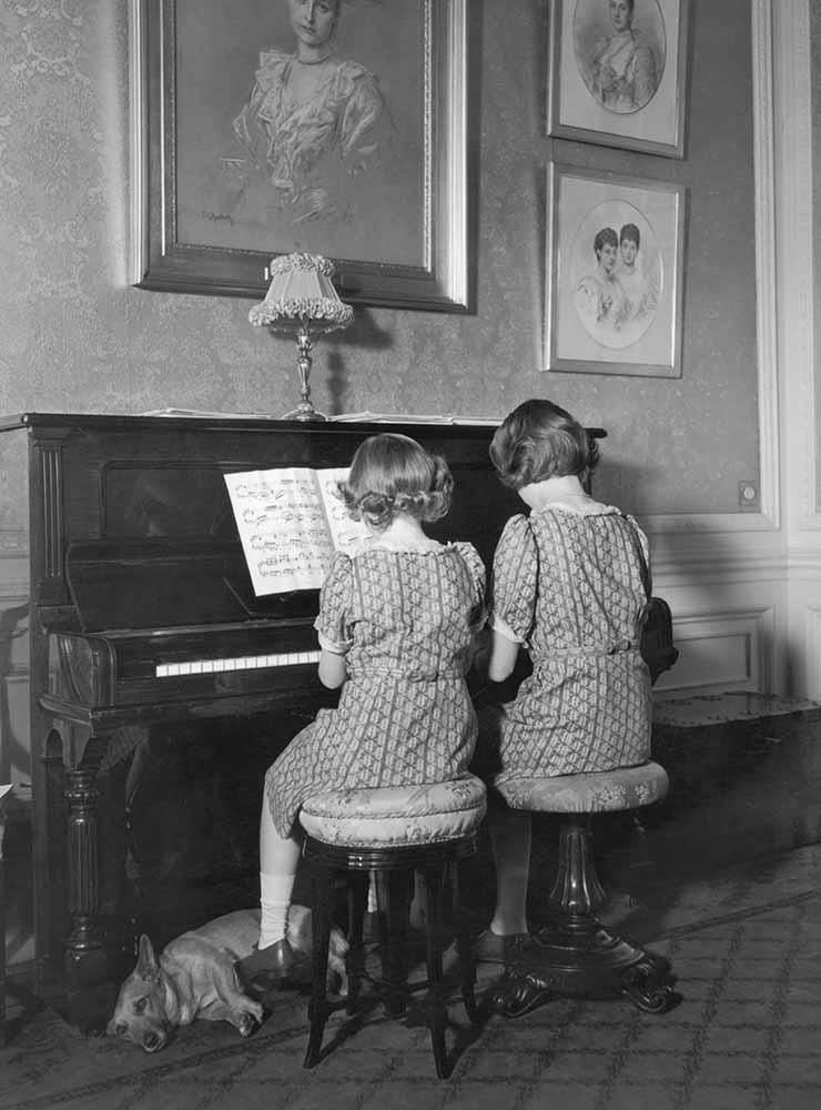 Princesses On The Piano fine art photography