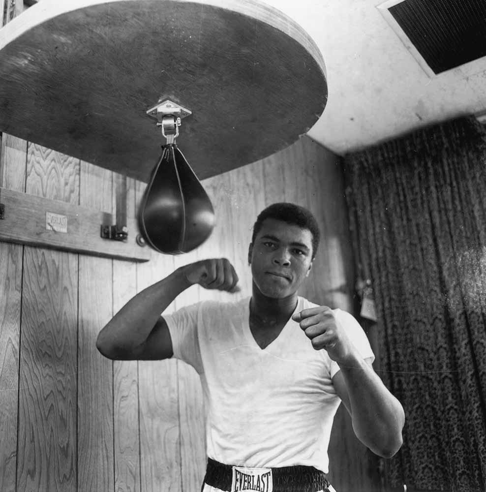 Ali In Training fine art photography