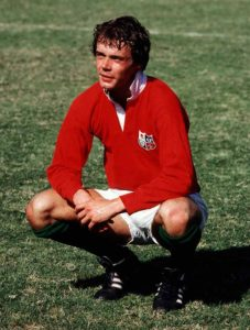 Clive Woodward of the British Lions