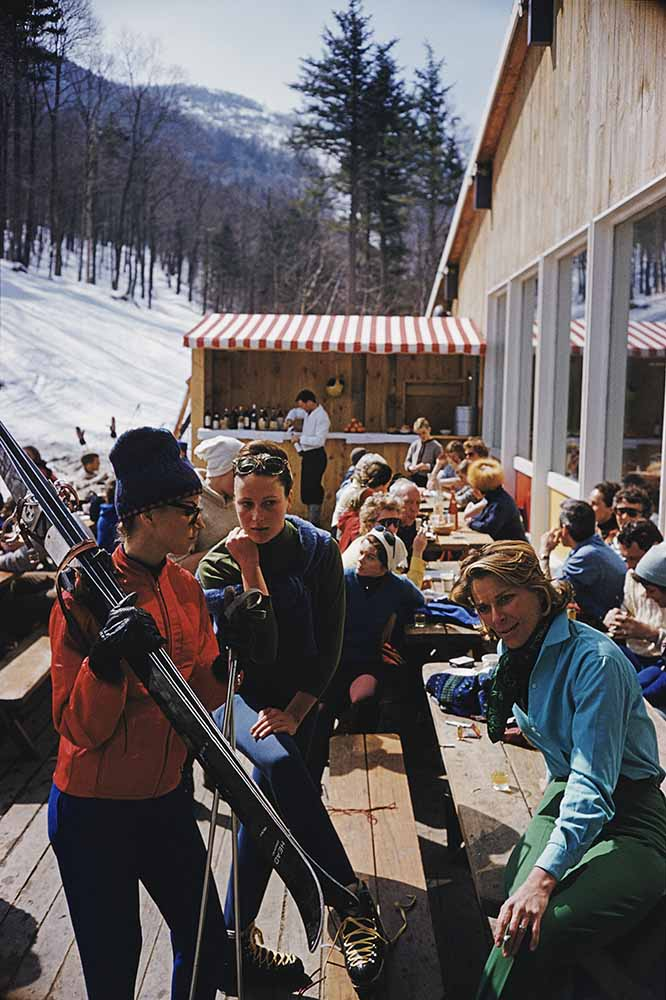 Ski Fashion At Sugarbush fine art photography