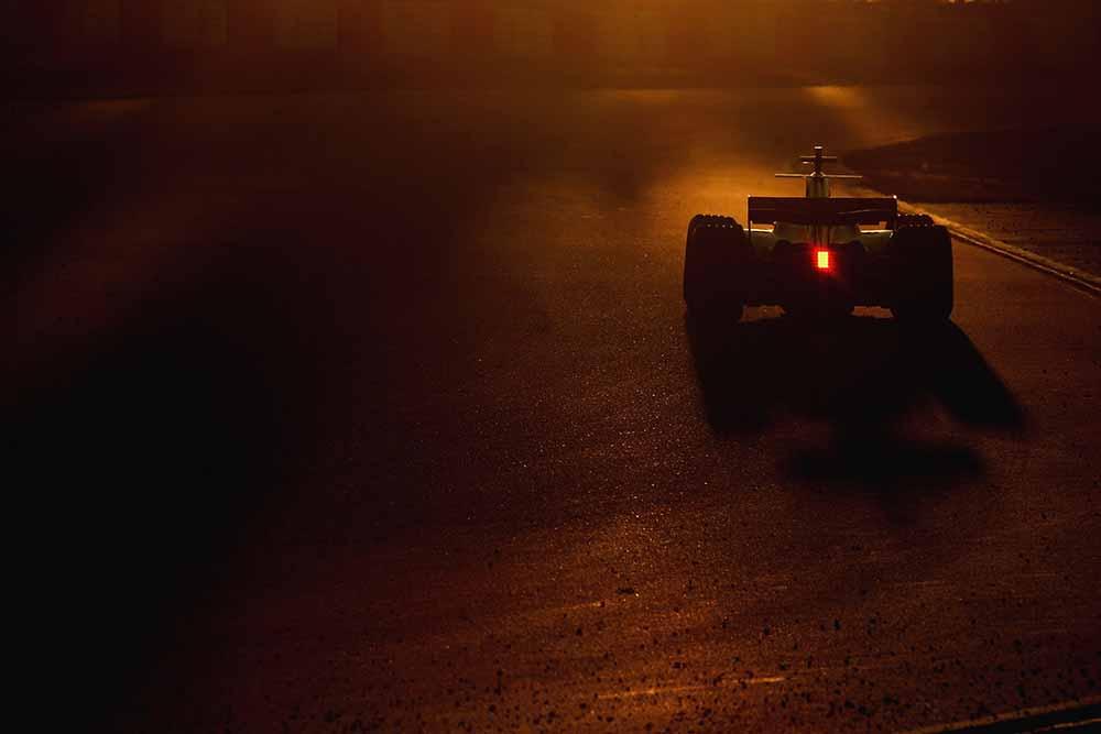 F1 Testing in Barcelona fine art photography