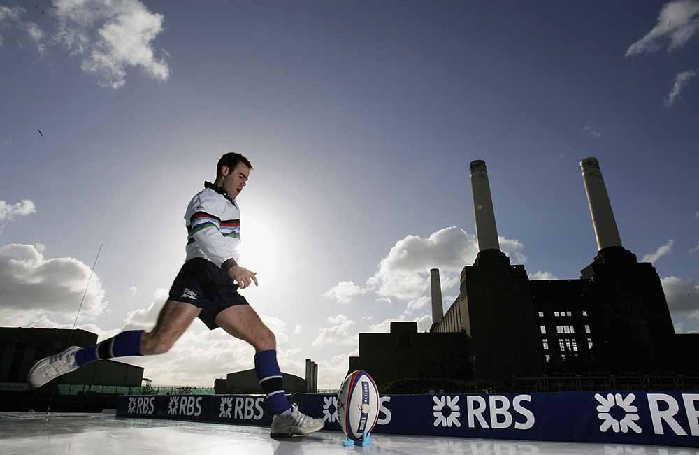 Kick for an RBS 6 Nations Ticket with Charlie Hodgson fine art photography