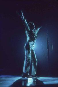 Mick In Blue