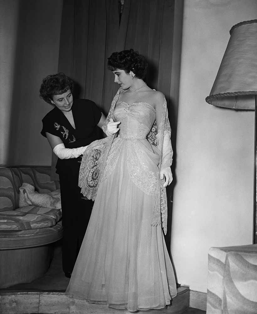 Elizabeth Taylor And Her Mother fine art photography