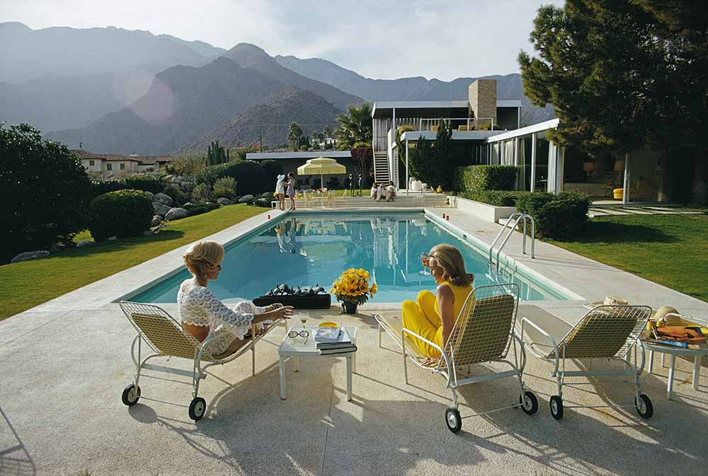 Poolside Pairs fine art photography