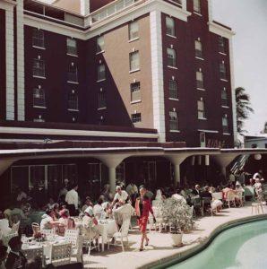 Poolside Promenade