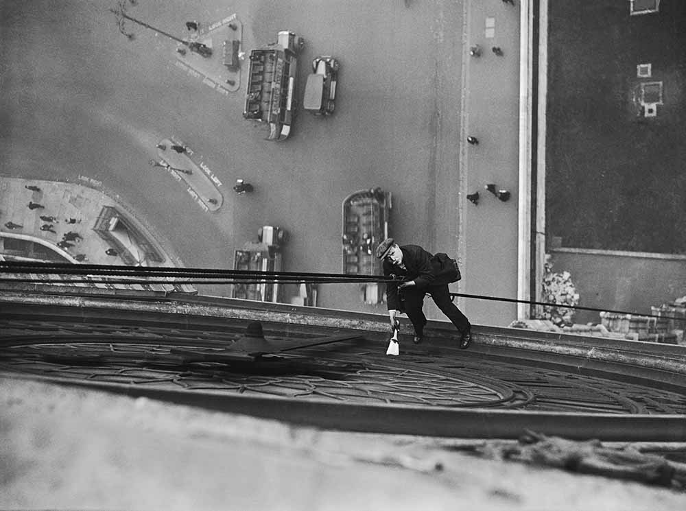 Clock Tower Cleaner fine art photography
