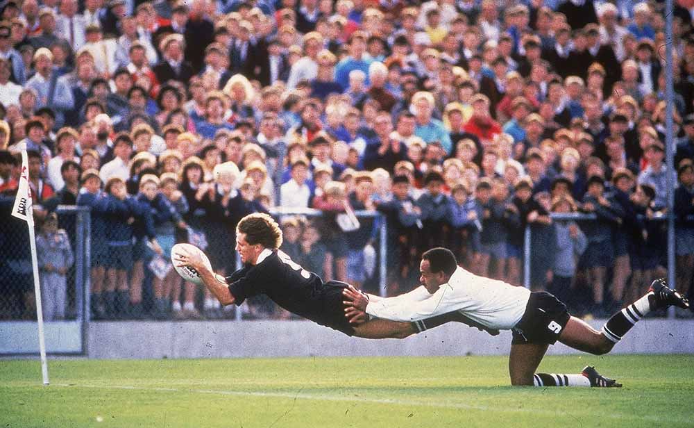 1987 Rugby World Cup Pool 3 – New Zealand v Fiji from Rugby fine art photography