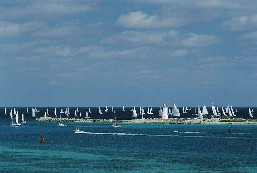 Nassau Sailing fine art photography