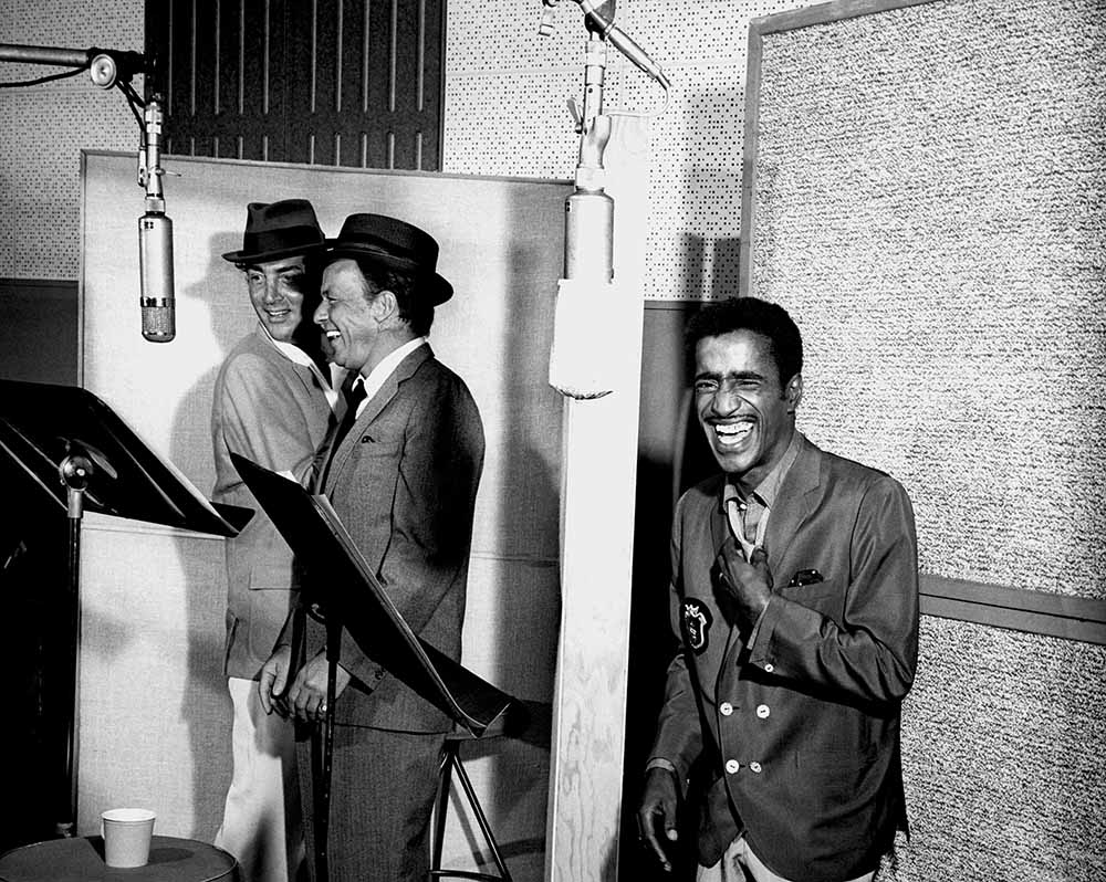 Rat Pack Recording Session fine art photography