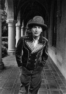 Fashion Designer Malcolm McLaren Portrait Session