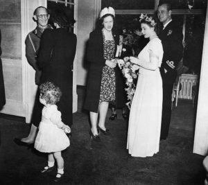 Royals At Wedding