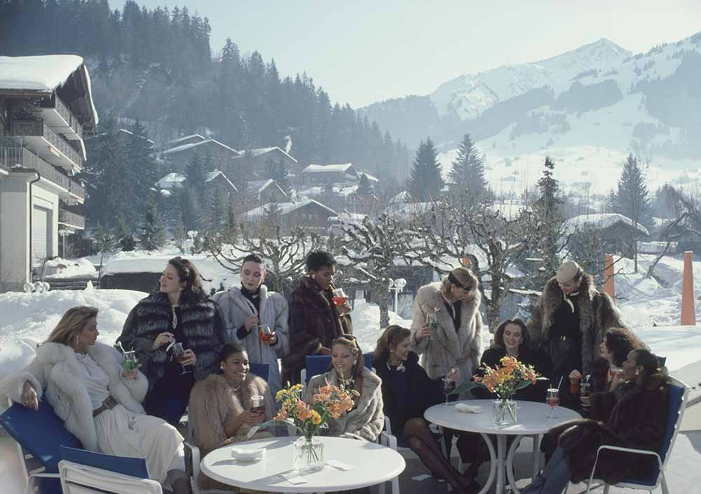 Drinks At Gstaad fine art photography