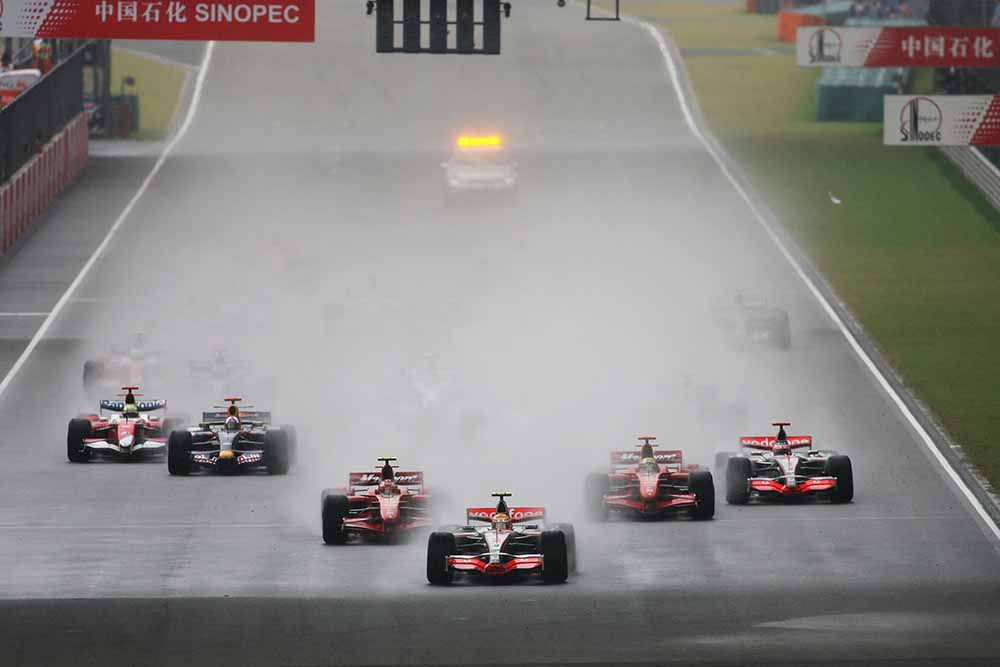 Chinese Formula One Grand Prix: Race fine art photography