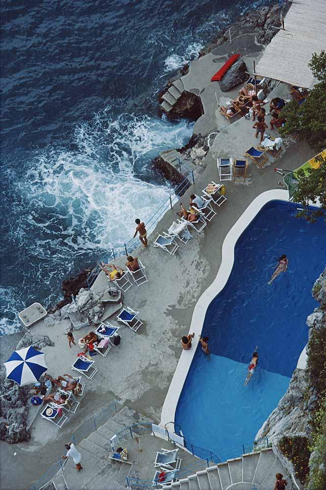 Pool On Amalfi Coast fine art photography