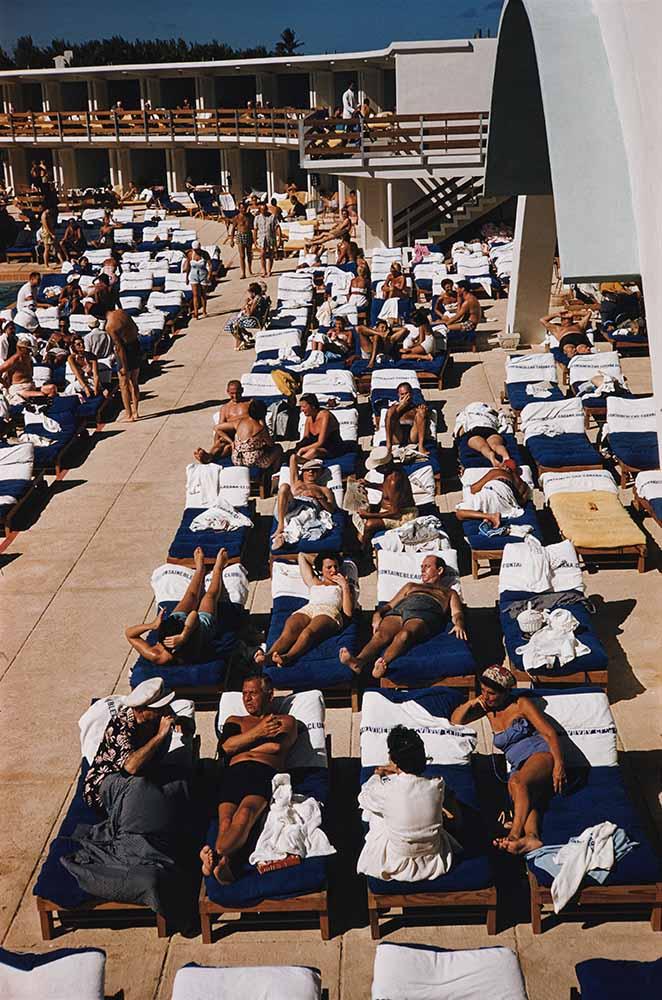 Sunbathers In Miami fine art photography