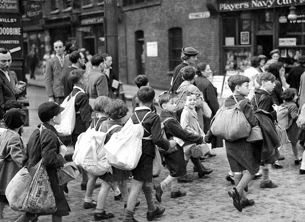 Whitechapel Evacuees fine art photography