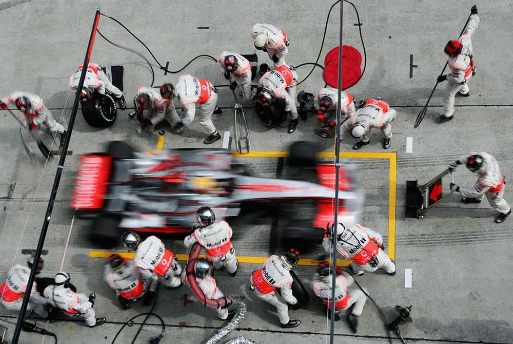 Malaysian Formula One Grand Prix: Race fine art photography