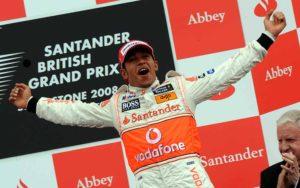McLaren Mercedes' British driver Lewis H