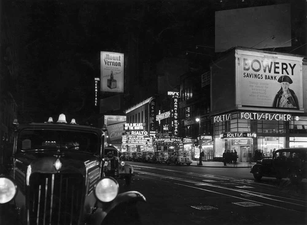 Broadway At Night fine art photography
