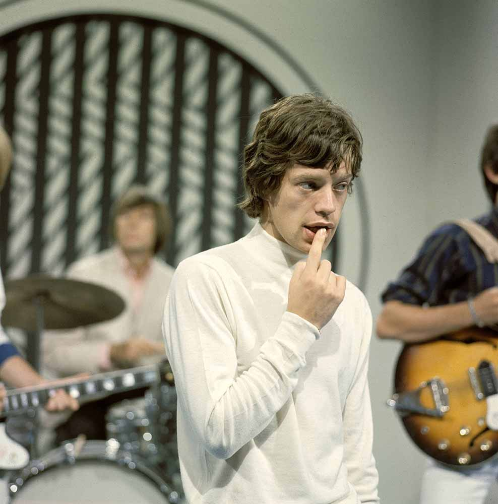 Photo of Mick JAGGER and ROLLING STONES fine art photography