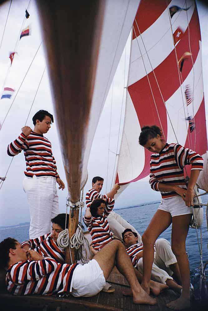 Adriatic Sailors fine art photography