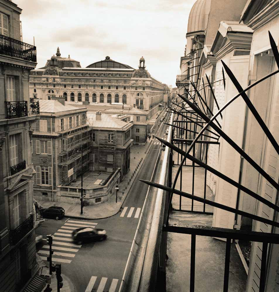 Musee d'Orsay From the Window of Hotel Solferino fine art photography