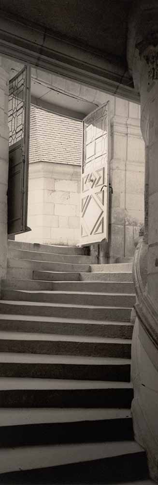 Staircase, Chateau, France fine art photography
