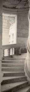 Staircase, Chateau, France