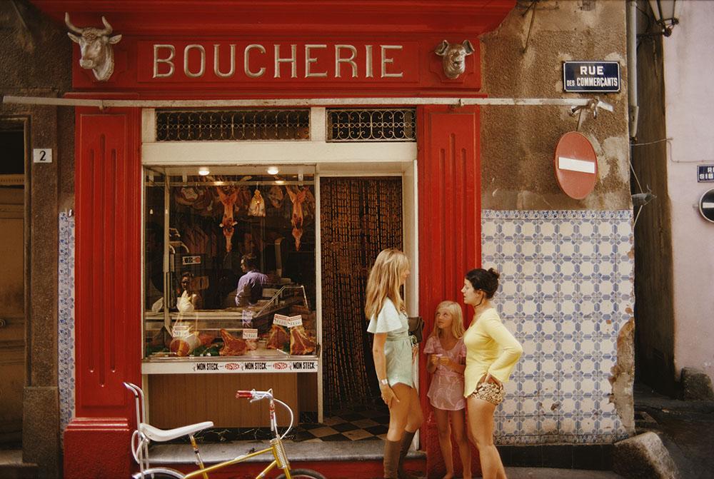 Saint-Tropez Boucherie fine art photography