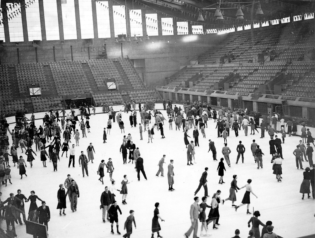 Ice Skaters fine art photography