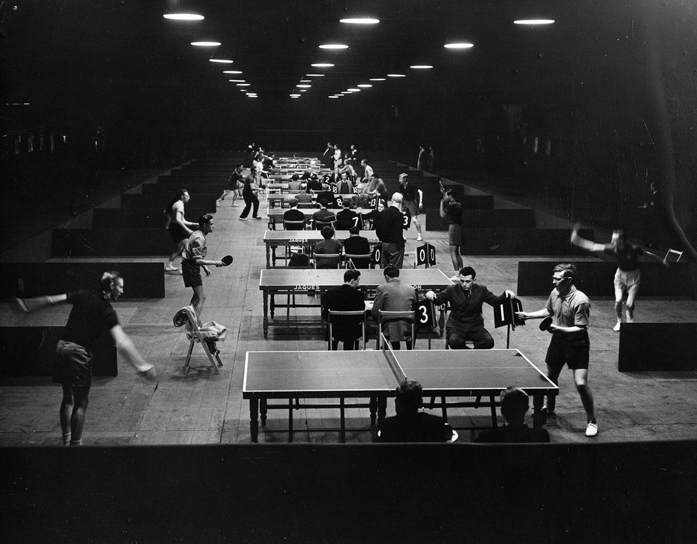 World Table Tennis fine art photography