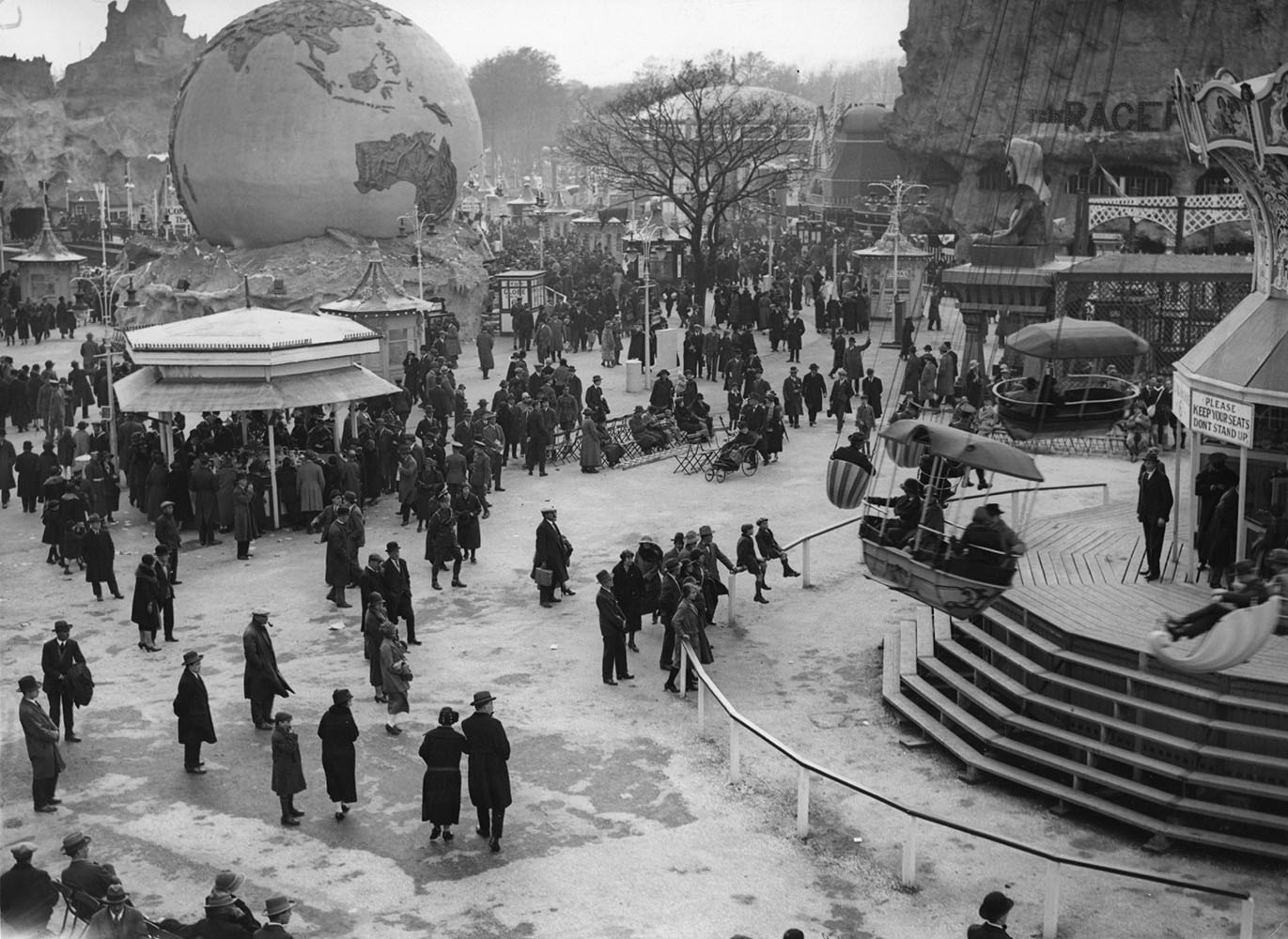 Fair Scene from The Ages of Wembley fine art photography