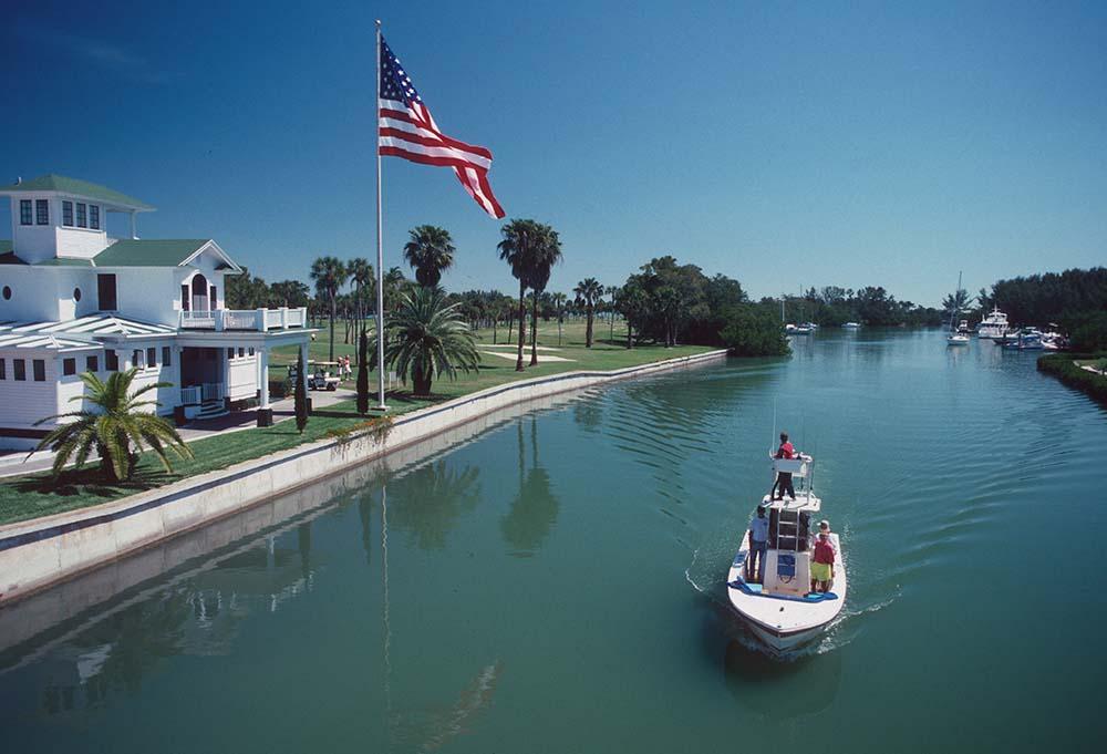 Canal In Boca Grande fine art photography