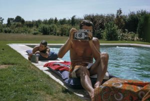 Hubert De Givenchy and Philippe Venet