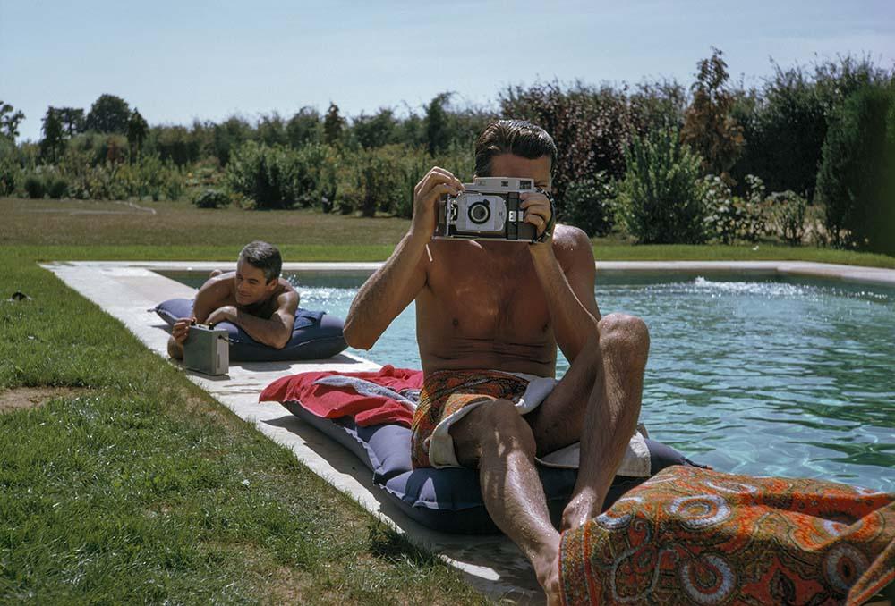 Hubert De Givenchy and Philippe Venet fine art photography