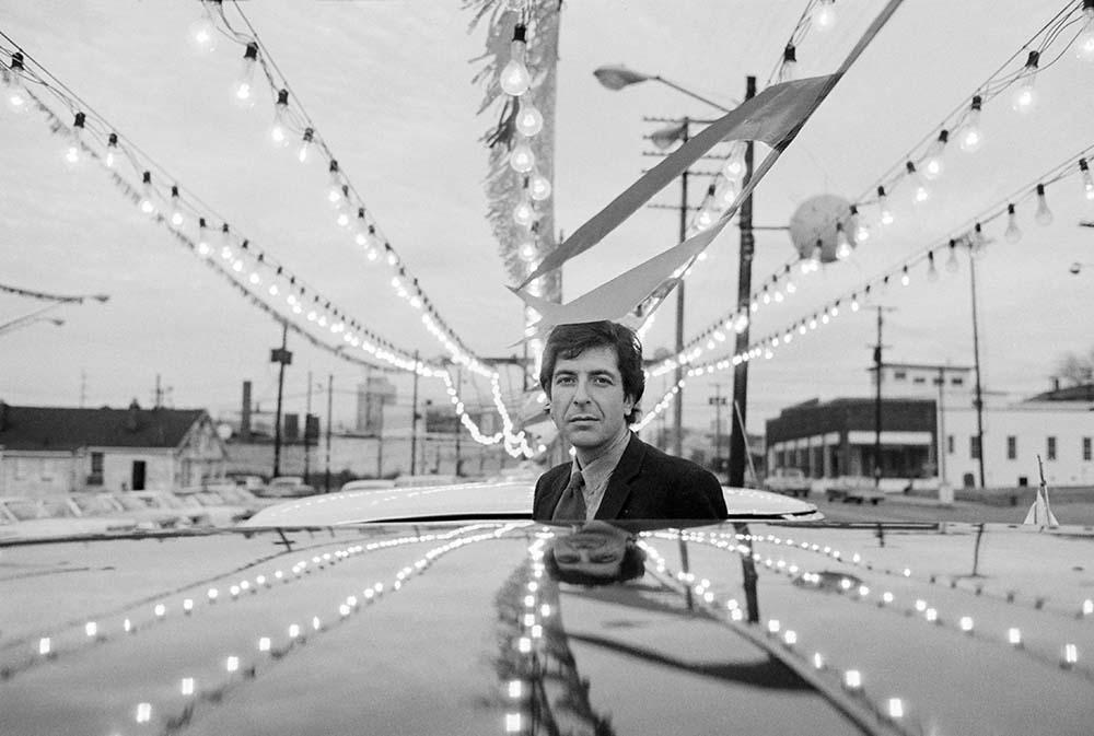 Leonard Cohen fine art photography