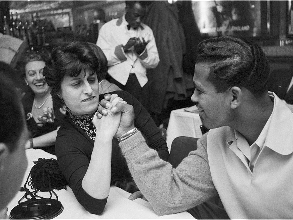 Anna Magnani and Sugar Ray Robinson fine art photography
