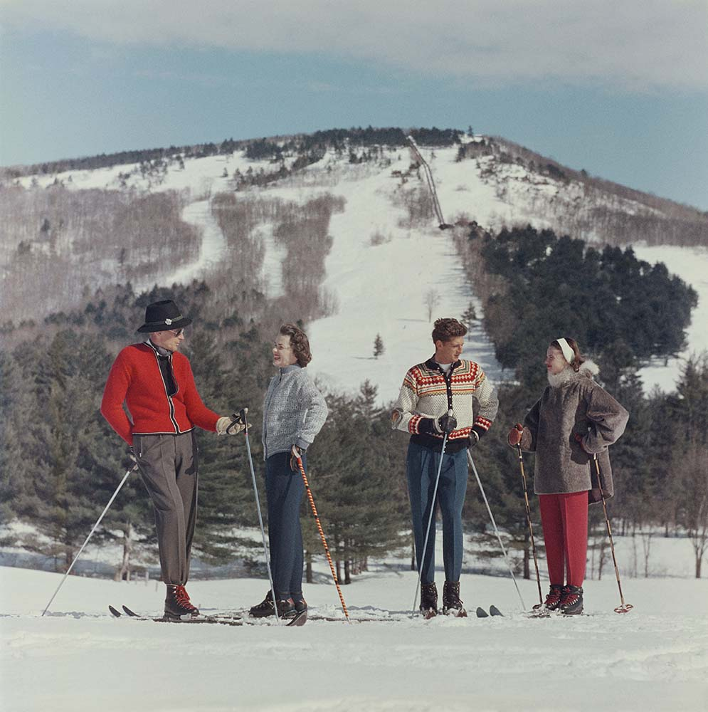 Skiing In New Hampshire fine art photography