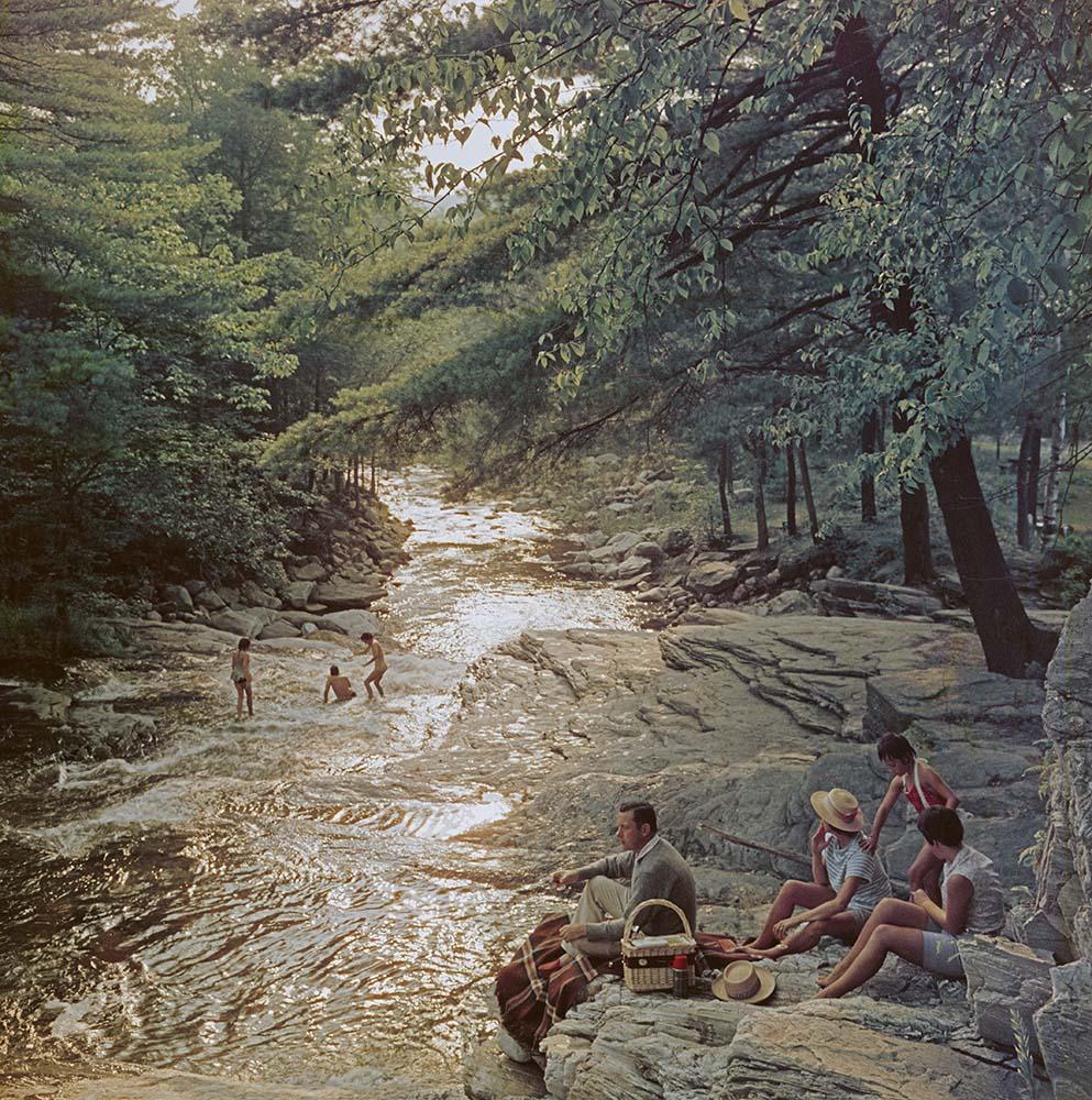 Campbell Falls Picnic fine art photography