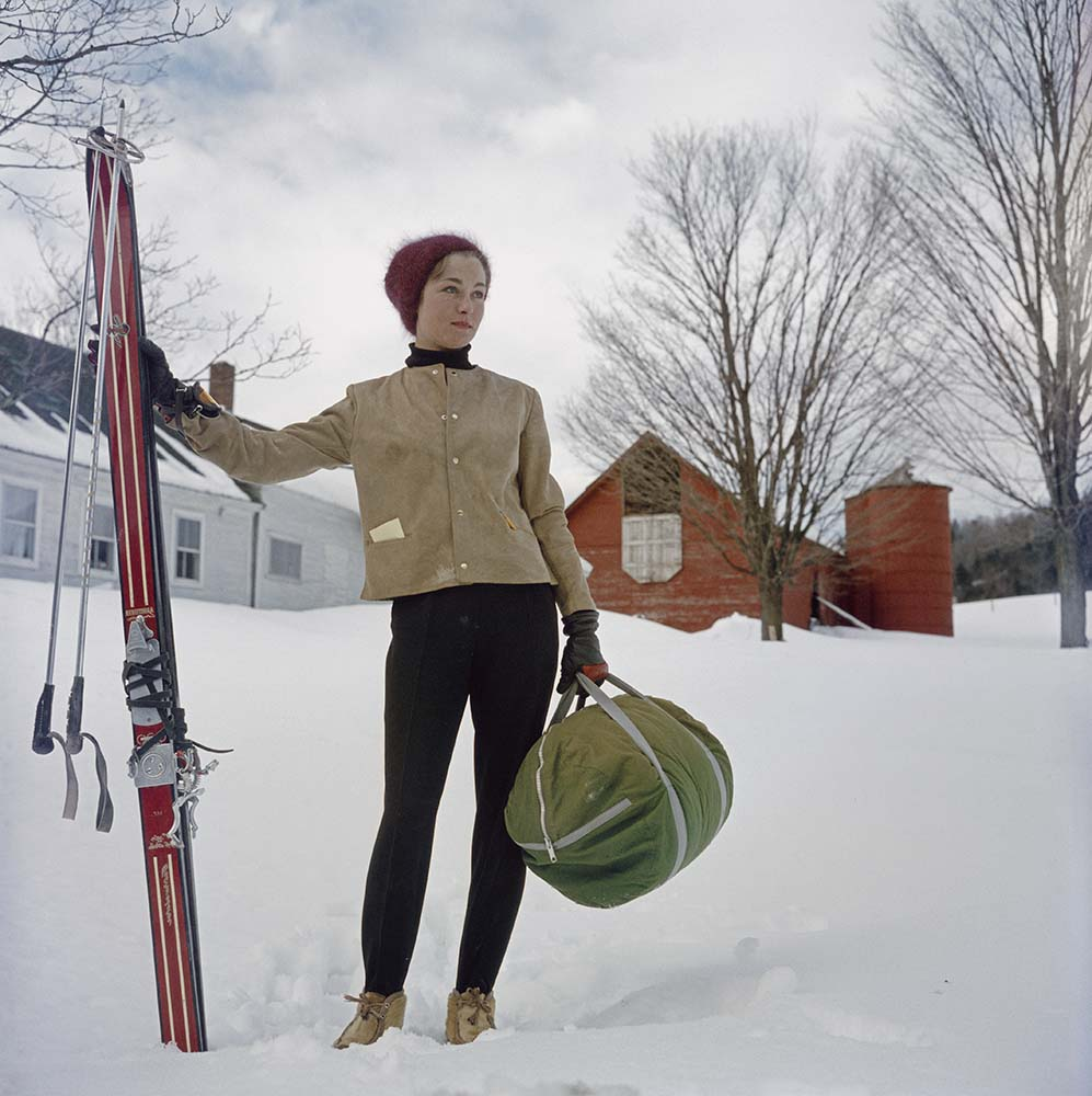 Skiing In Stowe fine art photography
