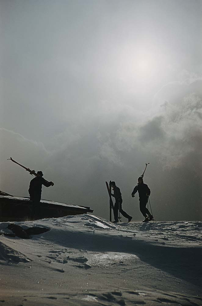 Cranmore Mountain Skiers fine art photography