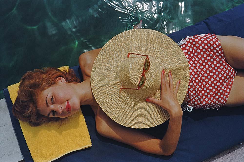 Sunbathing In Burgenstock fine art photography