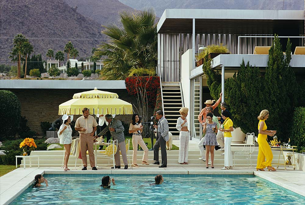 Poolside Party fine art photography
