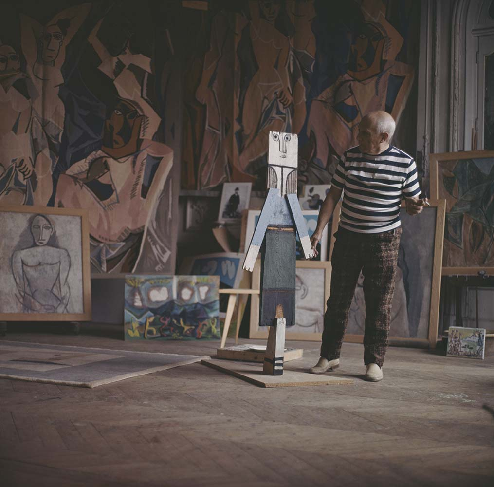 Pablo Picasso At Work fine art photography