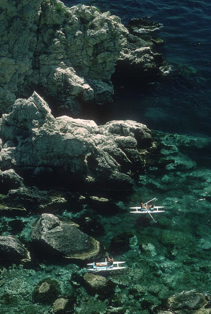 Rowing Off Sicily fine art photography