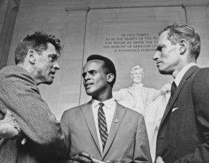 Actors At Civil Rights March