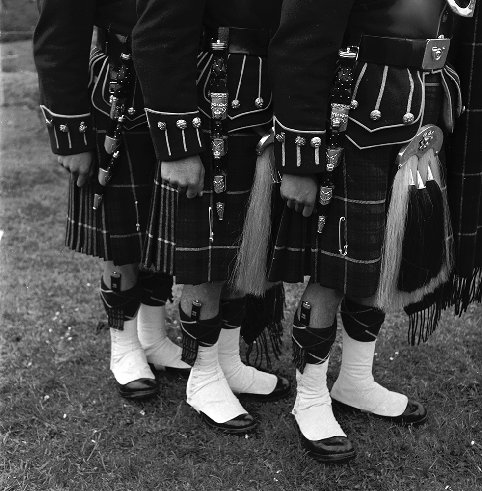 Pipers' Kilts fine art photography