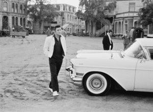 Elvis On Set