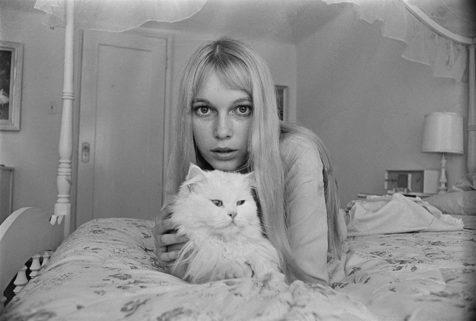 Mia Farrow fine art photography